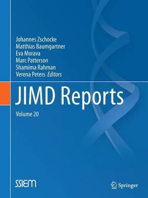 JIMD Reports, Volume 20 - JIMD Reports 20 (Paperback)