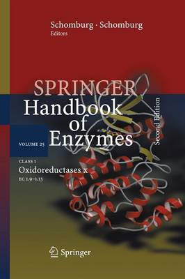Class 1 Oxidoreductases X: EC 1.9 - 1.13 - Springer Handbook of Enzymes 25 (Paperback)
