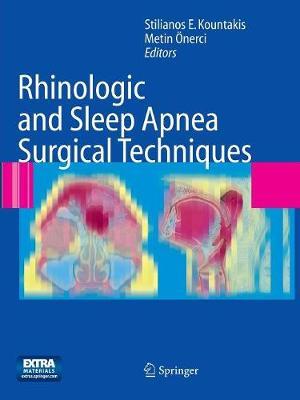 Rhinologic and Sleep Apnea Surgical Techniques (Paperback)