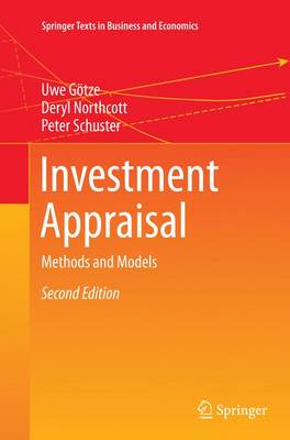 Investment Appraisal: Methods and Models - Springer Texts in Business and Economics (Paperback)