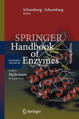 Class 3 Hydrolases: EC 3.4.22-3.13 - Springer Handbook of Enzymes S6 (Paperback)