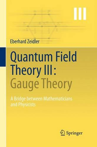 Quantum Field Theory III: Gauge Theory: A Bridge between Mathematicians and Physicists (Paperback)