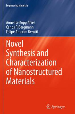 Novel Synthesis and Characterization of Nanostructured Materials - Engineering Materials (Paperback)