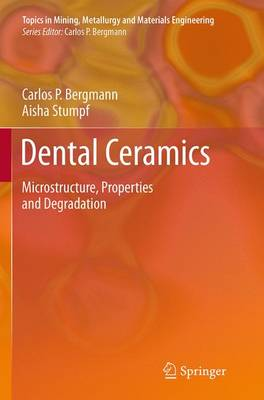 Dental Ceramics: Microstructure, Properties and Degradation - Topics in Mining, Metallurgy and Materials Engineering (Paperback)