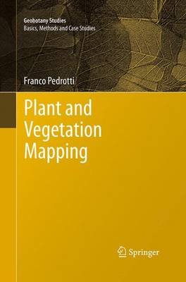Plant and Vegetation Mapping - Geobotany Studies (Paperback)
