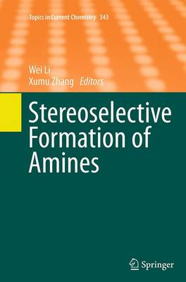 Stereoselective Formation of Amines - Topics in Current Chemistry 343 (Paperback)