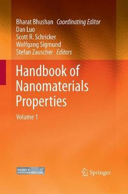 Handbook of Nanomaterials Properties (Paperback)