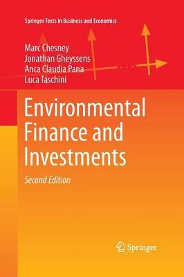 Environmental Finance and Investments - Springer Texts in Business and Economics (Paperback)