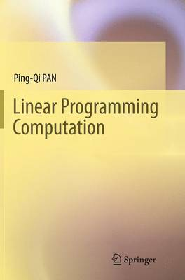 Linear Programming Computation (Paperback)