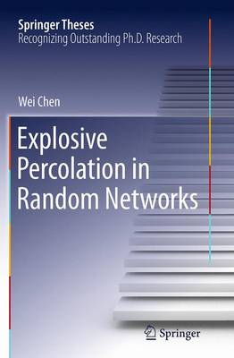 Explosive Percolation in Random Networks - Springer Theses (Paperback)