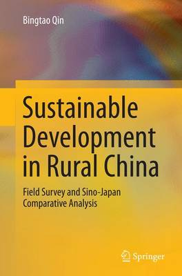 Sustainable Development in Rural China: Field Survey and Sino-Japan Comparative Analysis (Paperback)
