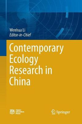 Contemporary Ecology Research in China (Paperback)