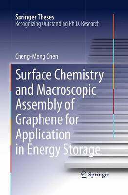 Surface Chemistry and Macroscopic Assembly of Graphene for Application in Energy Storage - Springer Theses (Paperback)