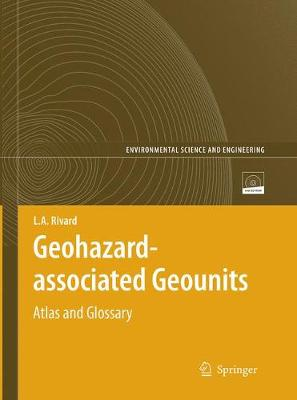 Geohazard-associated Geounits: Atlas and Glossary - Environmental Science (Paperback)