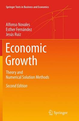 Economic Growth: Theory and Numerical Solution Methods - Springer Texts in Business and Economics (Paperback)