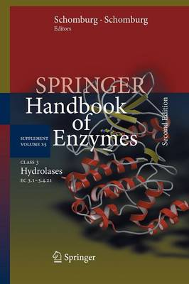 Class 3 Hydrolases: EC 3.1-3.4.21 - Springer Handbook of Enzymes S5 (Paperback)