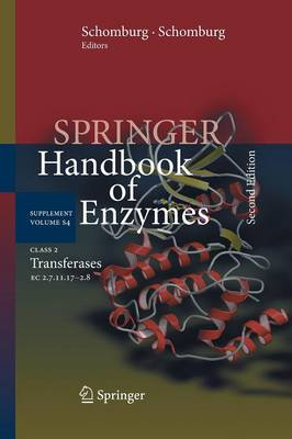 Class 2 Transferases: EC 2.7.11.17-2.8 - Springer Handbook of Enzymes S4 (Paperback)