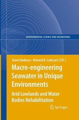 Macro-engineering Seawater in Unique Environments: Arid Lowlands and Water Bodies Rehabilitation - Environmental Science (Paperback)