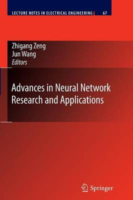 Advances in Neural Network Research and Applications - Lecture Notes in Electrical Engineering 67 (Paperback)