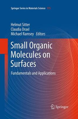 Small Organic Molecules on Surfaces: Fundamentals and Applications - Springer Series in Materials Science 173 (Paperback)
