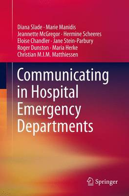 Communicating in Hospital Emergency Departments (Paperback)