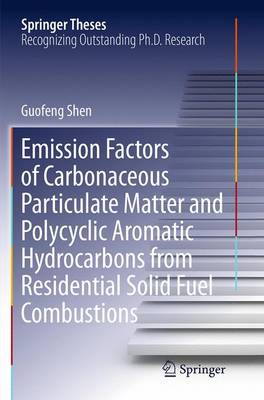 Emission Factors of Carbonaceous Particulate Matter and Polycyclic Aromatic Hydrocarbons from Residential Solid Fuel Combustions - Springer Theses (Paperback)