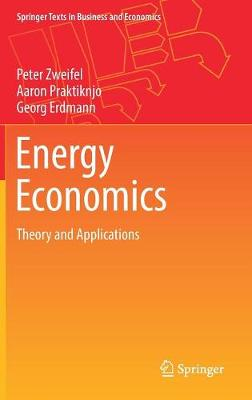 Energy Economics: Theory and Applications - Springer Texts in Business and Economics (Hardback)