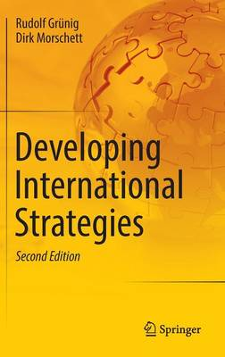 Developing International Strategies (Hardback)