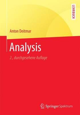 Analysis - Springer-Lehrbuch (Paperback)