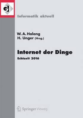 Internet Der Dinge: Echtzeit 2016 - Informatik Aktuell (Paperback)