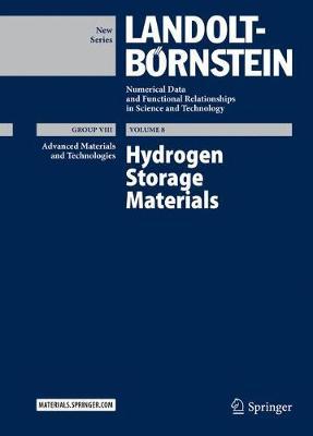 Hydrogen Storage Materials - Advanced Materials and Technologies 8 (Hardback)