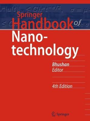 Springer Handbook of Nanotechnology - Springer Handbooks (Hardback)
