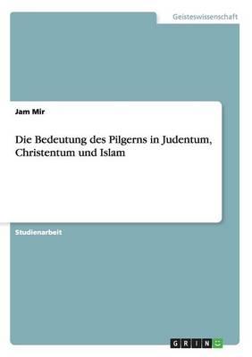 Die Bedeutung Des Pilgerns in Judentum, Christentum Und Islam (Paperback)