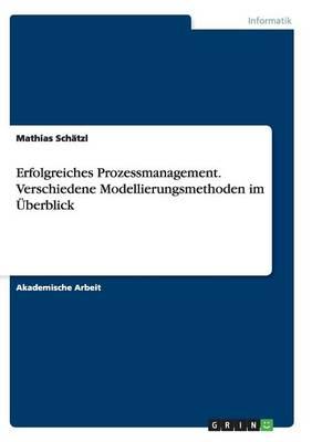 Erfolgreiches Prozessmanagement. Verschiedene Modellierungsmethoden Im berblick (Paperback)