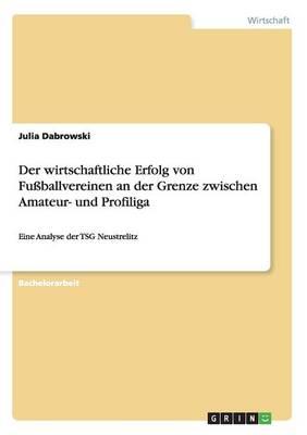 Der Wirtschaftliche Erfolg Von Fuballvereinen an Der Grenze Zwischen Amateur- Und Profiliga (Paperback)
