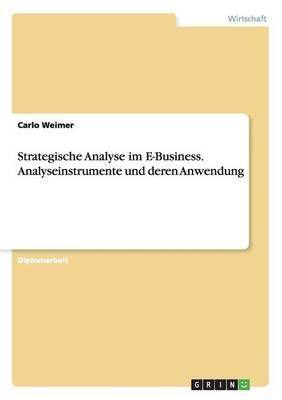 Strategische Analyse Im E-Business. Analyseinstrumente Und Deren Anwendung (Paperback)