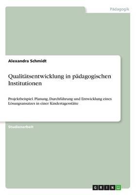Qualitatsentwicklung in Padagogischen Institutionen (Paperback)
