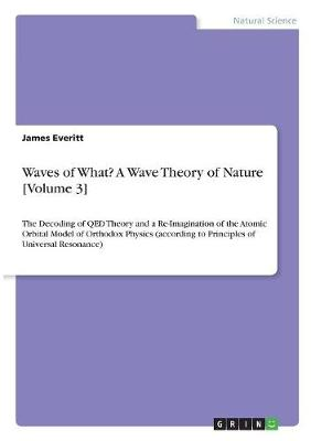 Waves of What? a Wave Theory of Nature [Volume 3] (Paperback)