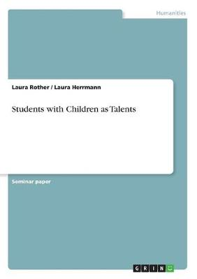 Students with Children as Talents (Paperback)
