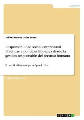 Responsabilidad Social Empresarial. Practicas Y Politicas Laborales Desde La Gestion Responsable del Recurso Humano (Paperback)
