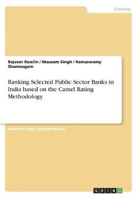 Ranking Selected Public Sector Banks in India Based on the Camel Rating Methodology (Paperback)