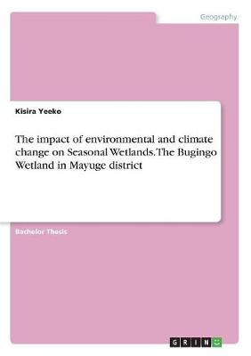 The Impact of Environmental and Climate Change on Seasonal Wetlands. the Bugingo Wetland in Mayuge District (Paperback)