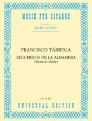 Recuerdos de la Alhambra for Guitar: UE14427 (Sheet music)
