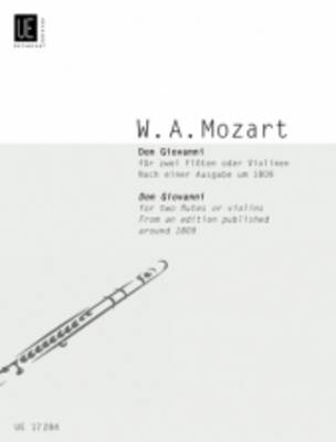 Don Giovanni for Two Flutes (Sheet music)