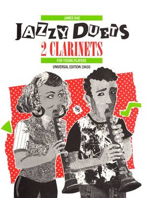 Jazzy Duets for Two Clarinets: UE19430 (Sheet music)