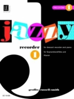 Jazzy Recorder: UE18828 1: For Descant Recorder and Piano (Sheet music)
