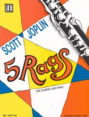 5 Rags for Clarinet and Piano: UE19661 (Sheet music)