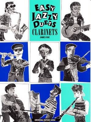 Easy Jazzy Duets for Two Clarinets: UE16552 (Sheet music)