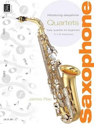 Introducing Saxophone-quartets: UE21361: Easy Quartets for Beginners (Sheet music)
