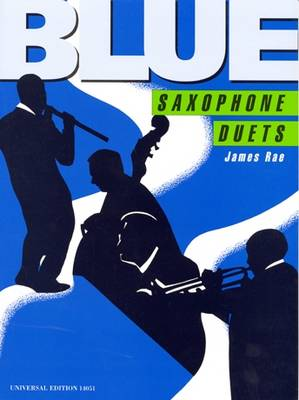 Blue Duets for Two Saxophones: UE14051 (Sheet music)